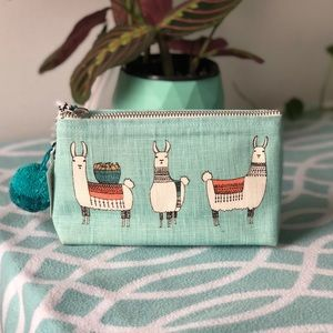 NWT Llamarama Small Cosmetic Bag - Danica Studio
